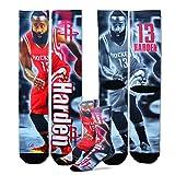 James Harden Houston Rockets Center Court II Socks (3 Sizes Available) (Youth)