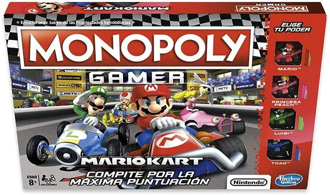 Monopoly- Gamer Mario Kart (Versión Española), Multicolor, única (Hasbro E1870105): Amazon.es: Juguetes y juegos