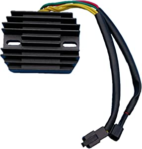 Tuzliufi Replace Voltage Regulator Rectifier Suzuki Motorcycle DR-Z400E DR-Z400S Off-Road Supermotard 398cc 32800-29F00 32800-08D00 New Z43
