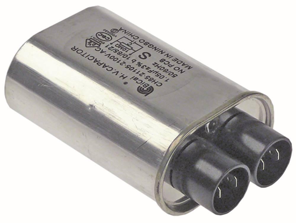 Condensador de HV ch85 - 21105 para microondas 2100 V de 2 ...