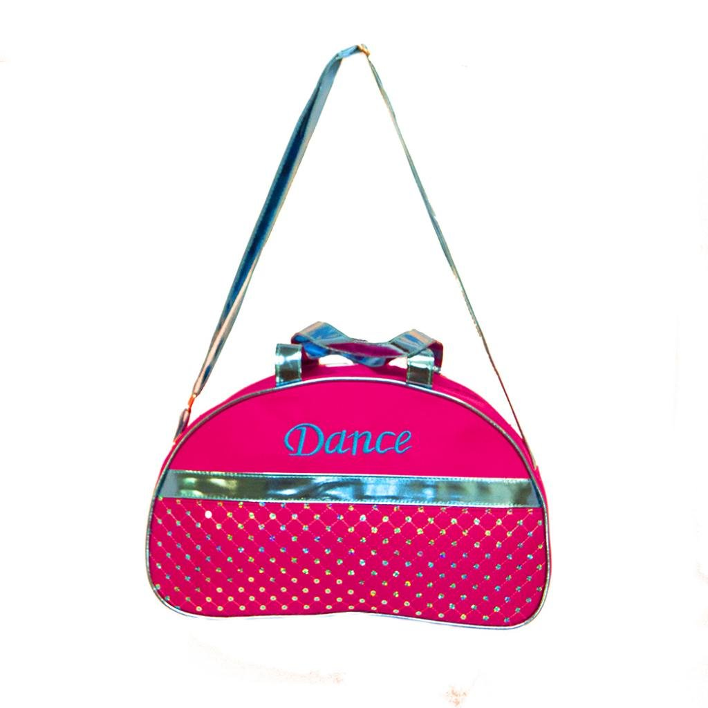 Girls Dance Duffle Bag Moon Sequin Metallic Choose Color