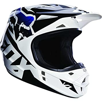 Casco Mx Fox 2016 V1 Race Negro (L , Negro)
