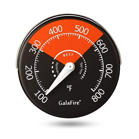 Amazon.com: Termómetro magnético para estufas, estufas ...