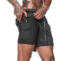 XDSP Pantalón Corto para Hombre,Pantalones Cortos Deportivos