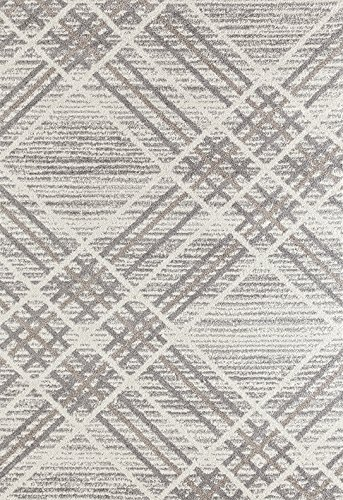 Adgo Milano Collection Modern Contemporary Geometric Plaid