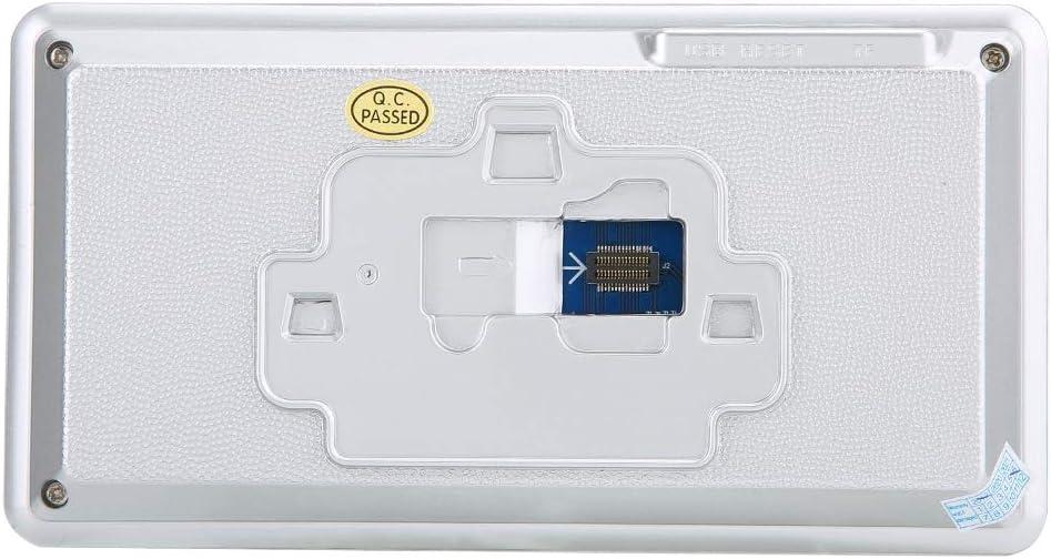 Tangxi Intelligente WiFi-Video-T/ürklingel elektronischer 5-Zoll-1080P-T/ürspion mit Nachtsicht und PIR-Bewegungserkennung sowie einem extrem weiten Betrachtungswinkel von 160 /°