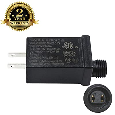 12V9W Led Class 2 Power Supply US Plug Adapter Waterproof IP44 Low Voltage LED Driver Transformer Replacement Part for LED Light