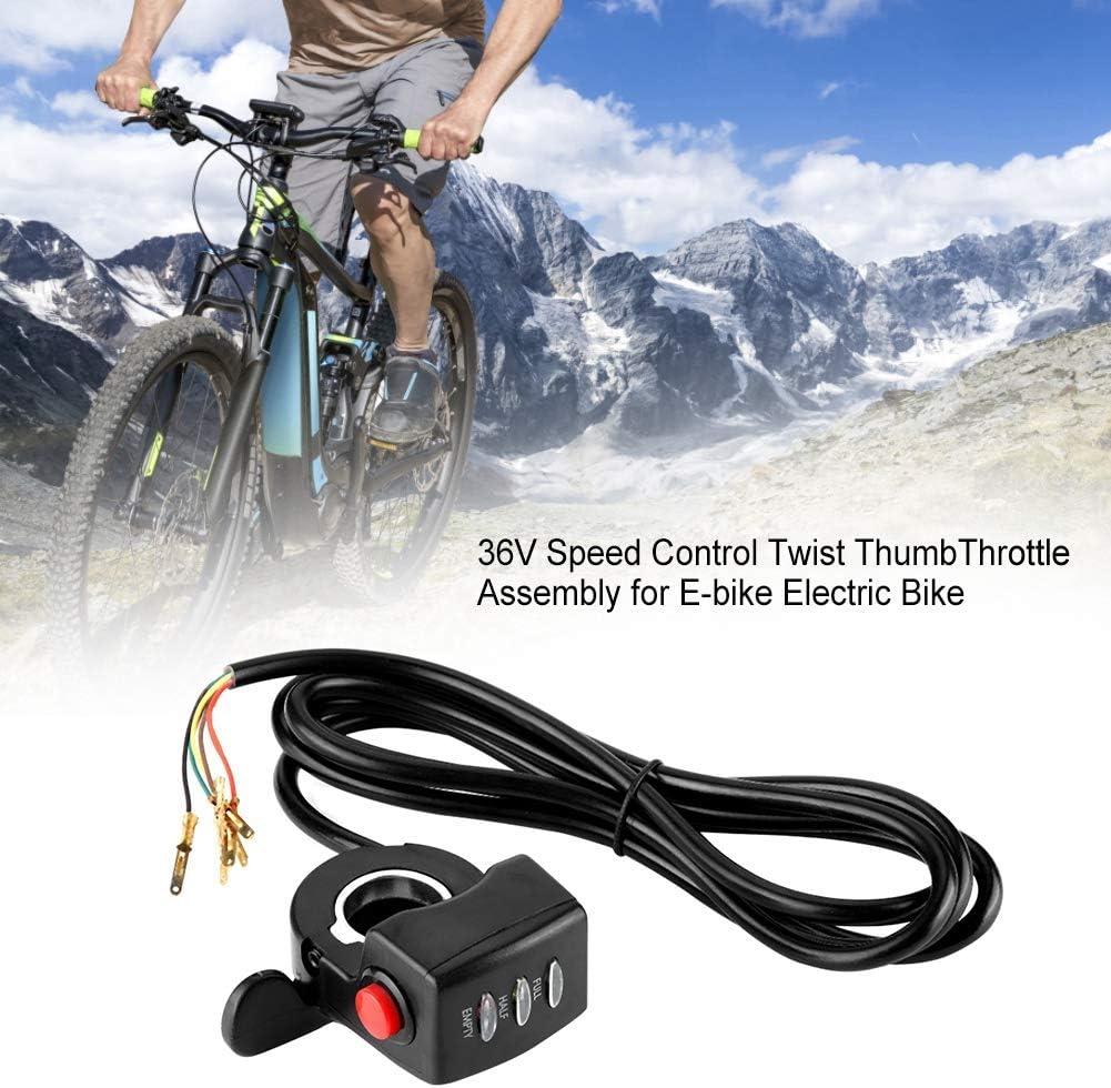 Pouce Gaz Régulateur Accélérateur pour Vélo E-Bike Bicyclette Électrique 7//8/'/'