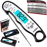 Instant Read Meat Thermometer - Best Waterproof Ultra Fast...
