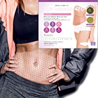 Body Applicator Wrap Slimming Firming Heating Abdomen Legs Arms, 8 Hours Sauna Suit...