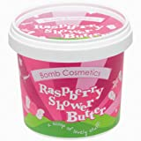 Bomb Cosmetics Raspberry Blower Cleansing Shower Butter 320g (Packaging Varies)