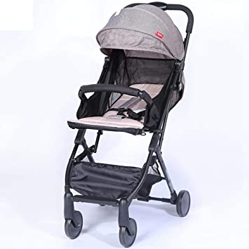 Shisky Sillas de Paseo,Bebé a bebé Reversible de Barra del tirón del Carro Ligero de Paraguas Plegable Alta Vista de los niños Carrito Cochecito Rueda: ...