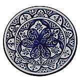 Ceramic Plates Moroccan Handmade Appetizer Tapas