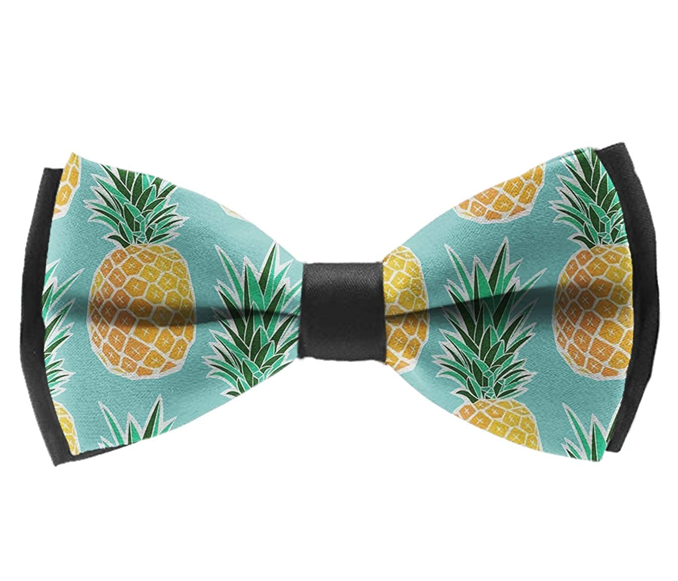 Bow Tie for Men Tuxedo /& Wedding Solid Color Tropical Pineapple