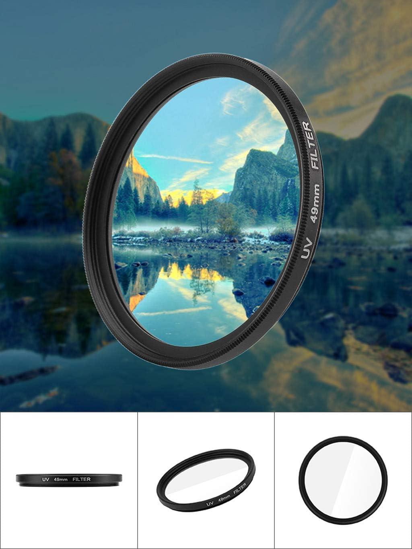 49mm 49-82mm Multi-Coated Camera Lens Waterproof UV Protective Filter Ultraviolet Protection Photography Filter Ultra-Slim Aleola UV Filter for Camera Lenses