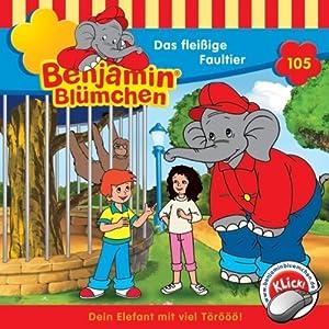 Das fleißige Faultier (Benjamin Blümchen 105) Hörspiel