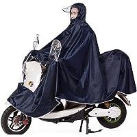 Poncho chubasquero unisex para ir en moto, reflectante