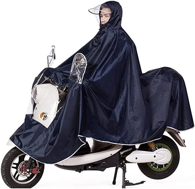 Fahrrad Regenponcho Regenjacke Regenmantel wasserdicht Winddicht Damen Herren,