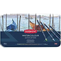 Derwent Watercolour Pencils Tin 72