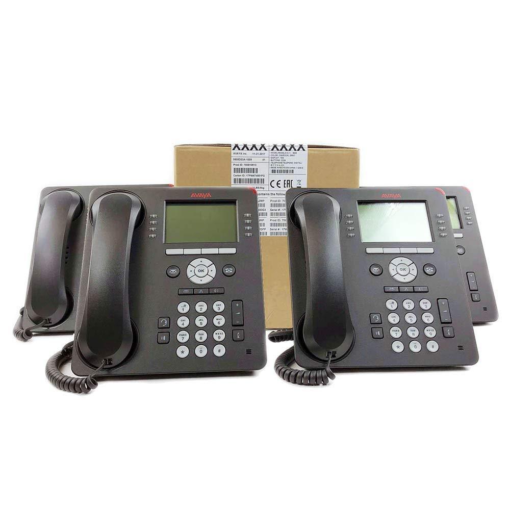 Avaya 9508 Digital Phone Global 4 Pack (700510913) (Renewed) by Avaya