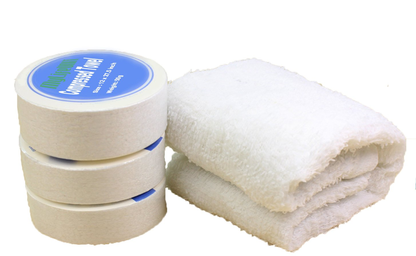 MyLifeUNIT Compressed Towels Tablets, Pack of 5 BT15007