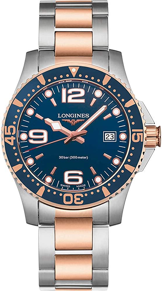 Longines HYDROCONQUEST 41MM Blue DIAL Stainless Steel/PVD Diving Watch L37403987