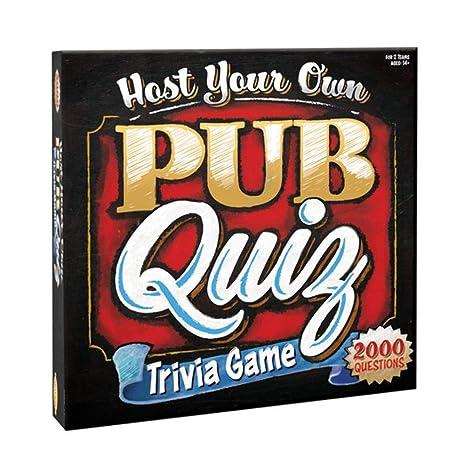 Amazon com: Cheatwell Games Host Your Own Pub Quiz,: Toys