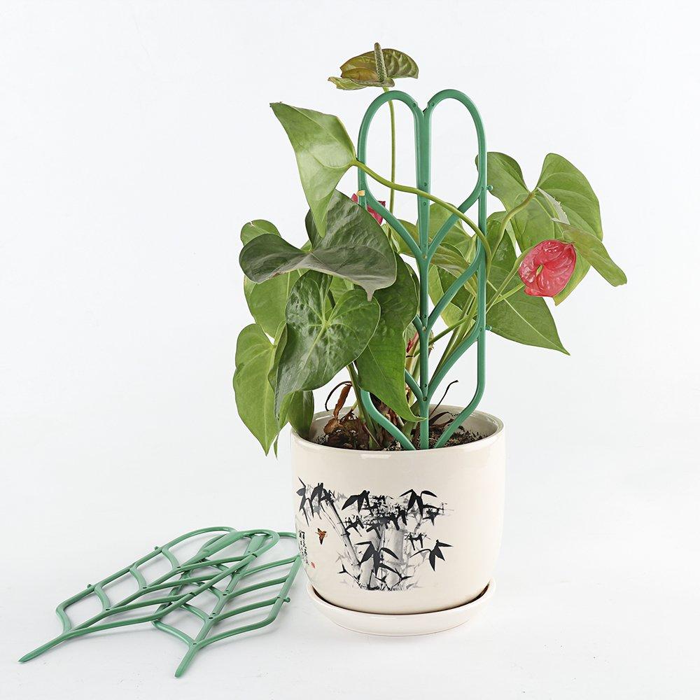 Kunststoff-Gitter Kombination Blumen Rack 6/St/ück GoodFaith Pflanzen unterst/ützung Klettern Bl/ätter