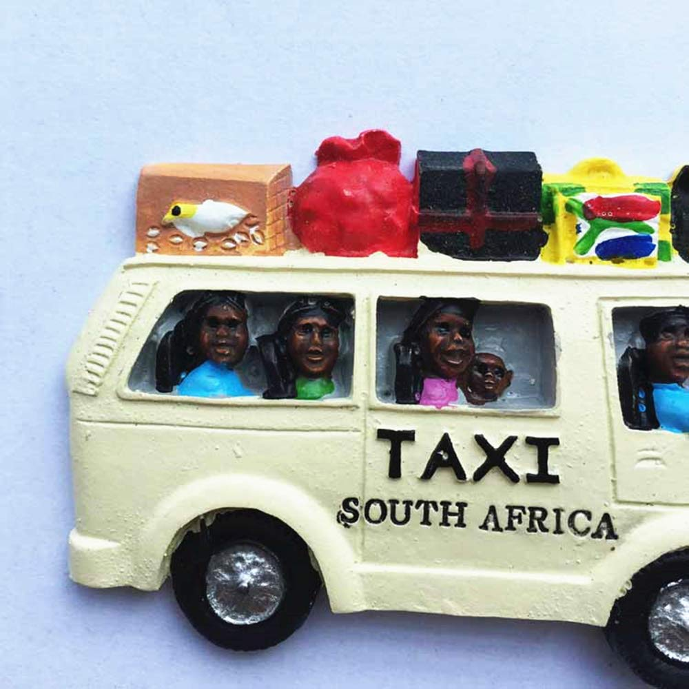 Amazon com muyu magnet 3d creative taxi south africa souvenir fridge magnethome kitchen decoration polyresin crafttaxi south africa refrigerator magnet