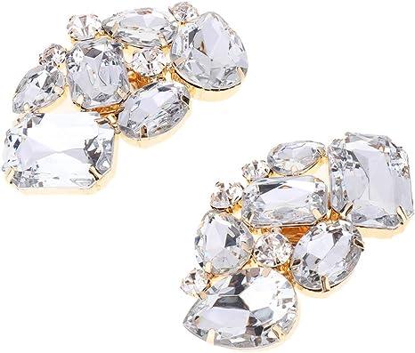 Clip Per Scarpe Da Sposa.Clip Di Scarpe Da Sposa Con Diamanti Artificiali Luminoso Spilla