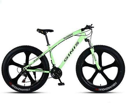 WJSW Bicicleta de Doble suspensión - Bicicleta de montaña con ...