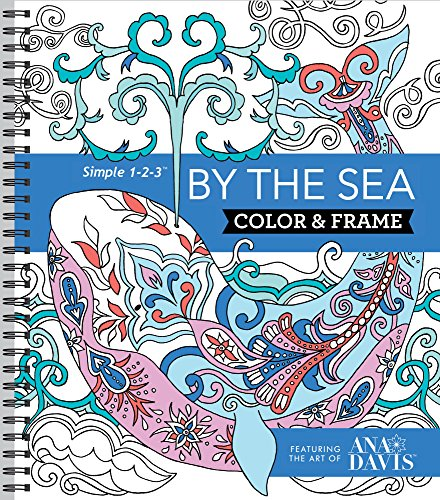 Color & Frame Coloring Book - By the - Perforated Tear