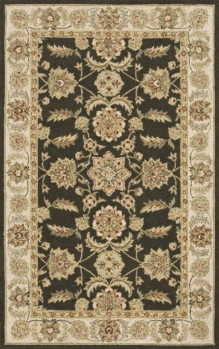 Momeni Rugs VERANVR-02OGN2030 Veranda Collection, Contemporary Indoor & Outdoor Area Rug, Easy to Clean, UV protected & Fade Resistant, 2' x 3', Olive Green