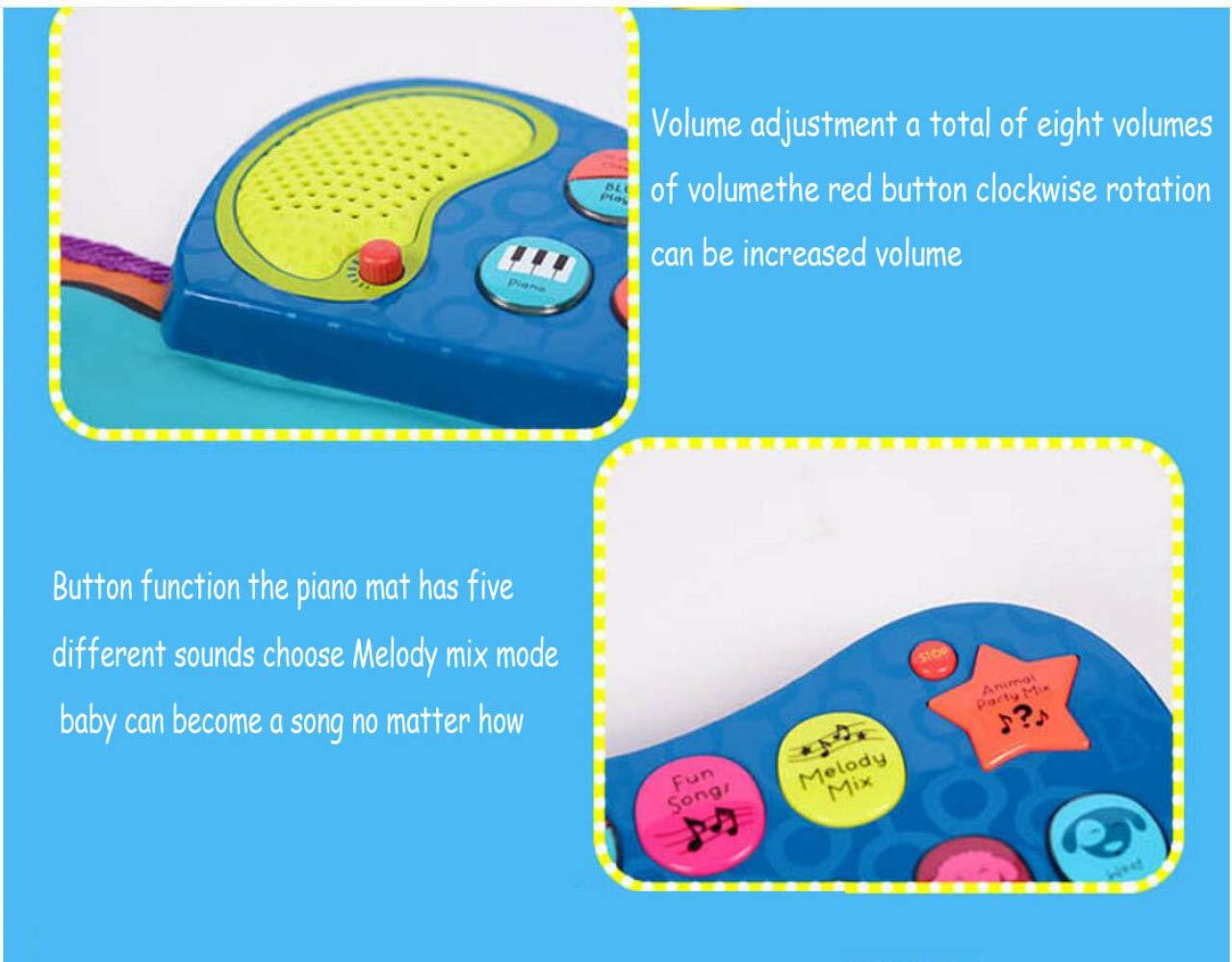 QXMEI Piano Dance Mat Children's Music Game Mat Fitness Mat Parent-Child Interactive Toys by QXMEI (Image #6)