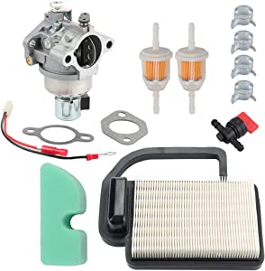 Butom 20-853-33-S 20 853 35-s SV530 Carburetor + 20 083 02-S Air Filter Tune Up Kit for Kohler Courage SV Series SV470 SV480 SV540 SV590 SV591 SV600 SV601 SV610 SV620 SV530S SV540S Engine