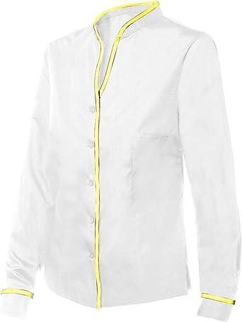 DISVEL Camisa De Mujer Entallada Blanco S: Amazon.es: Ropa y ...