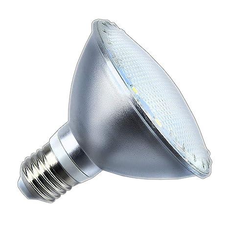 E27 Luxvista Impermeable Foco 12W SpotLuz Lúmenes110W Lámpara Proyector Fría1080 Equivalente LED Par30 Bombilla 3cqA54RjL