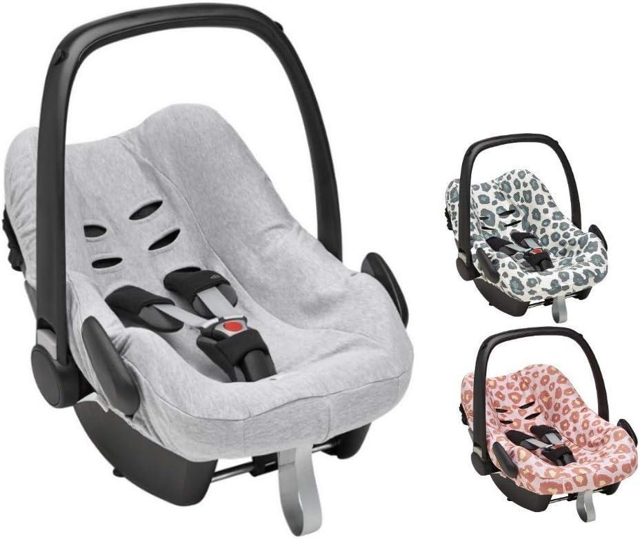 Meyco Baby Housse de protection pour b/éb/é 100 /% coton respirant pour si/ège b/éb/é Maxi-Cosi CabrioFix et autres