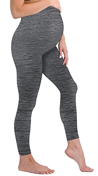d58e593159fa3 Touch Me Maternity Leggings Black Navy Grey Soft Solid Stretch Seamless  Tights One Size Fits All Active Wear Yoga Gym Clothes (Maternity - One Size  Fits All ...