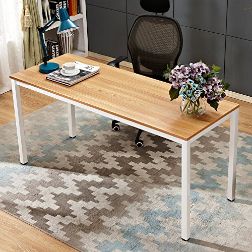 Steel Rectangular Dining Table - 6