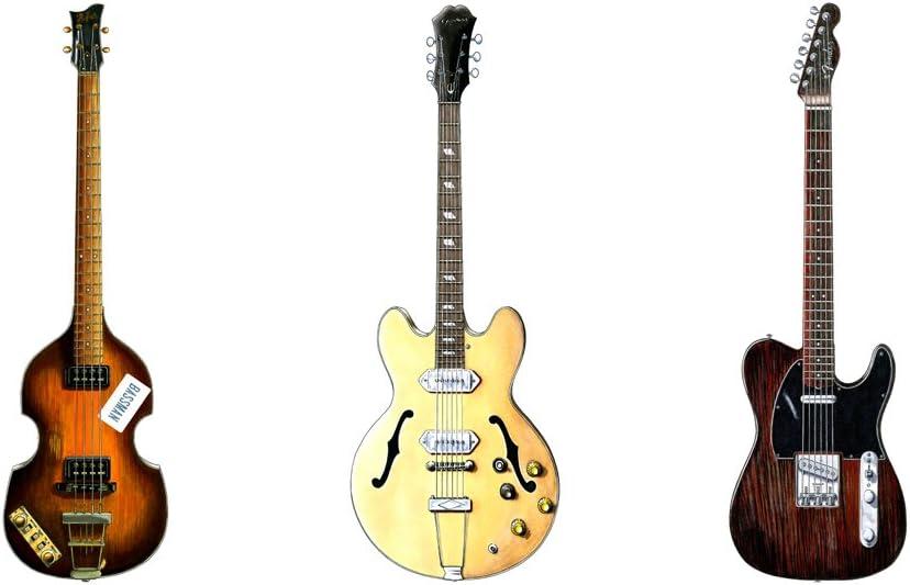 George Morgan Illustration Concierto de Guitarras de los Beatles ...