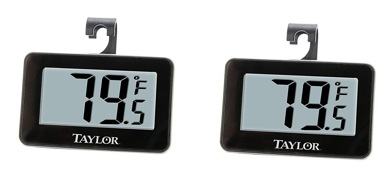Taylor Precision Products - Termómetro digital para frigorífico/congelador (2): Amazon.es: Hogar