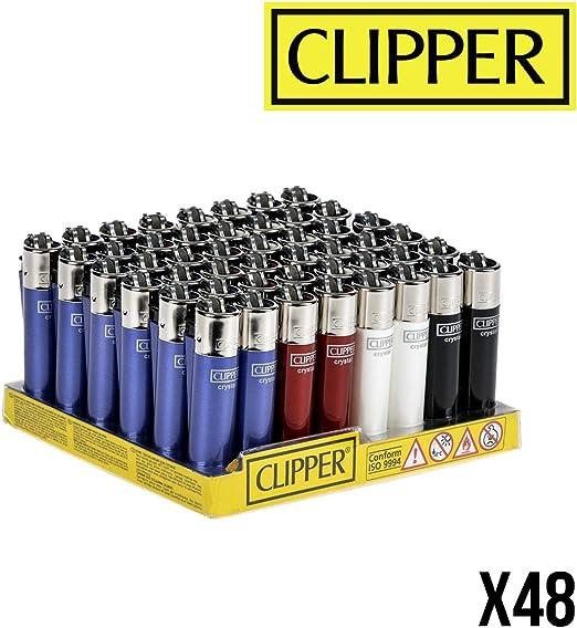 Clipper No 16, Crystal 4, minicolección, Pack de 4 Encendedores ...
