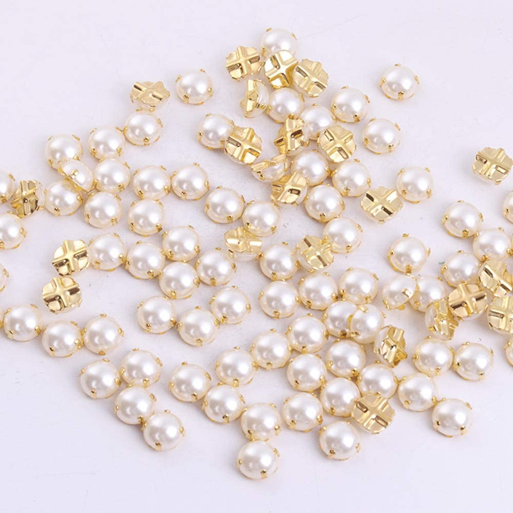 Apparel Sewing Pearl Beads  Sew On Rhinestones Flatback Rhinestones Crystal