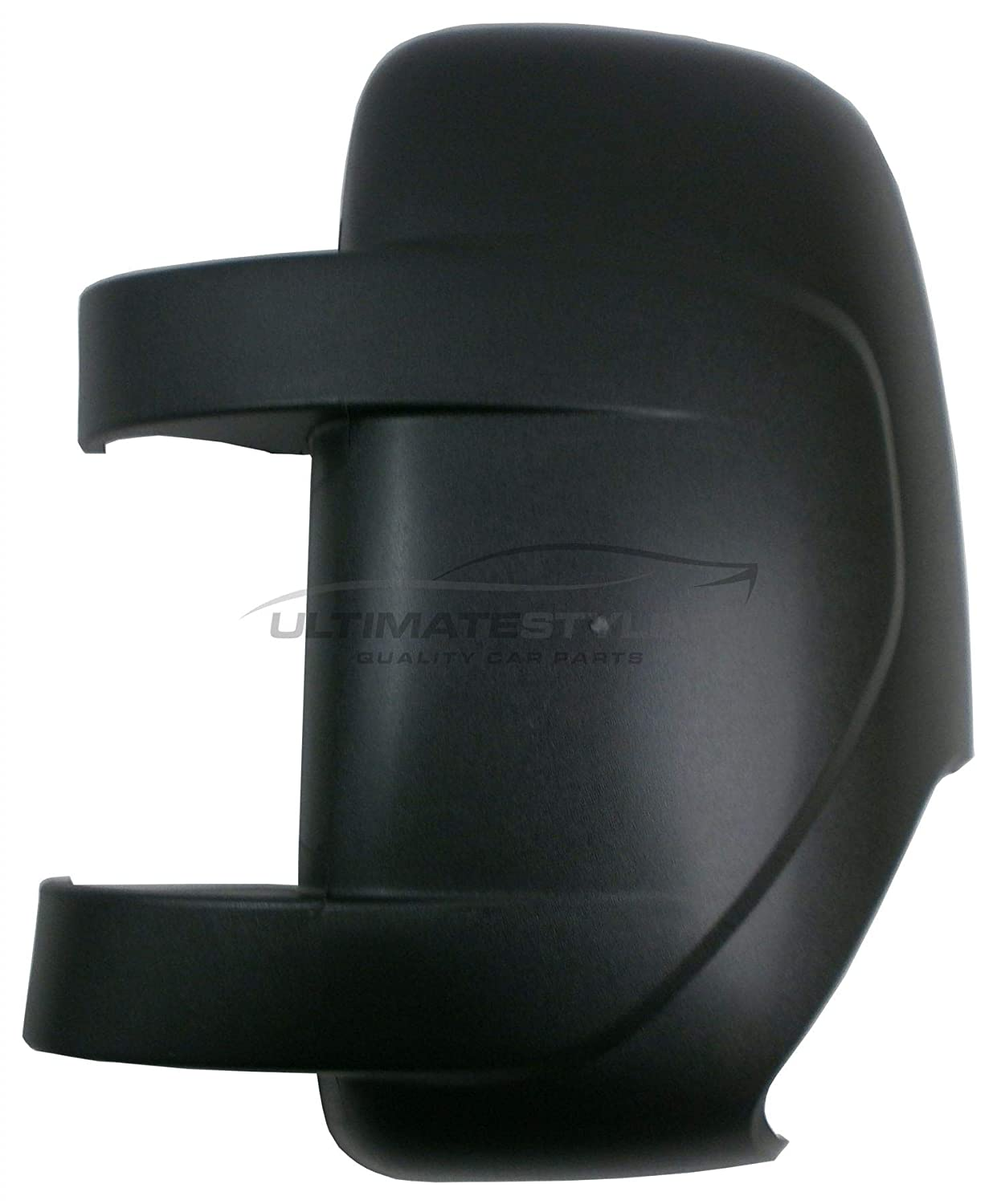 LH Ultimate Styling Aftermarket Replacement Wing Mirror Cover Cap Colour Of Cover Black Left Hand Side Textured For Passenger Side