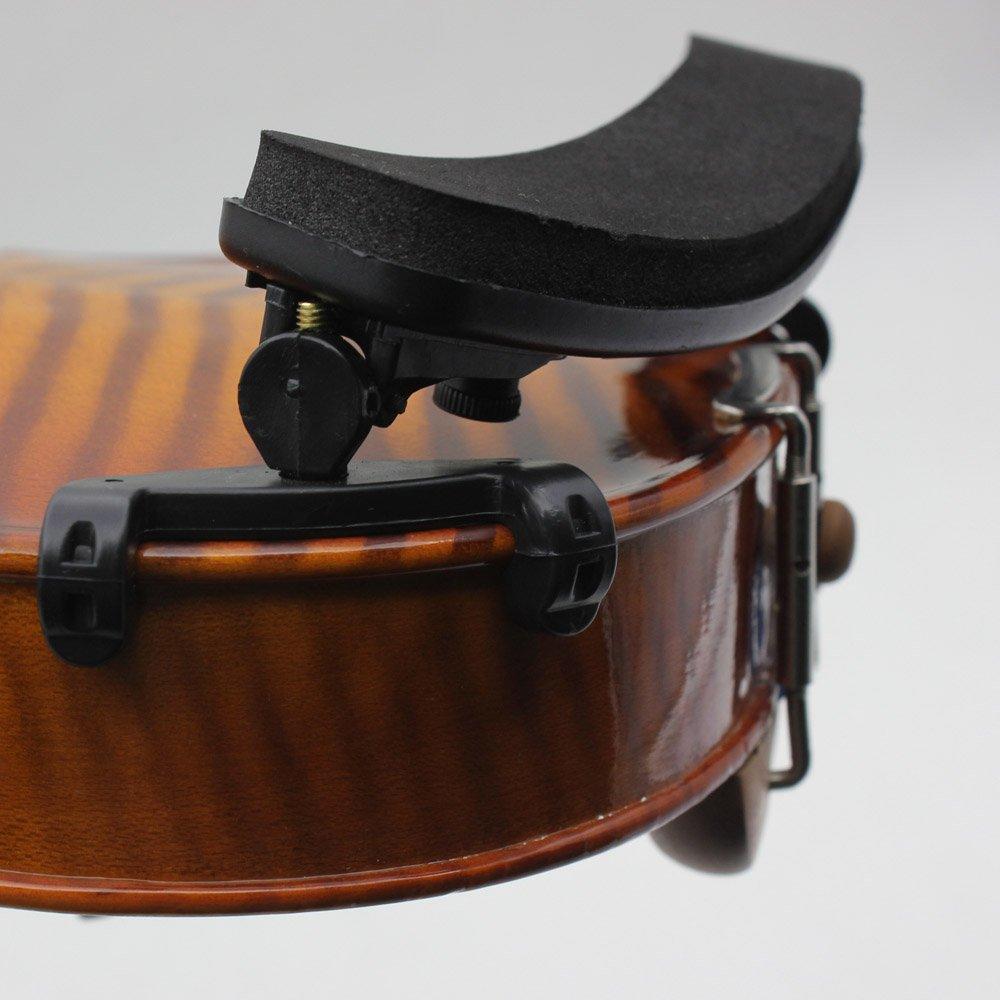 ammoon R/églable Violin Epauli/ère de Repos Plastique EVA Molletonn/ée pour 1//2 1//4 Fiddle Violon