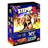 Step Up (5 Movie Collection) - 5-DVD Box Set ( Step Up / Step Up 2 - The Streets / Step Up 3 / Step Up 4 - Miami Heat / Step Up 5 - All In ) ( Le [ NON-USA FORMAT, PAL, Reg.2 Import - United Kingdom ] by Marc Macaulay