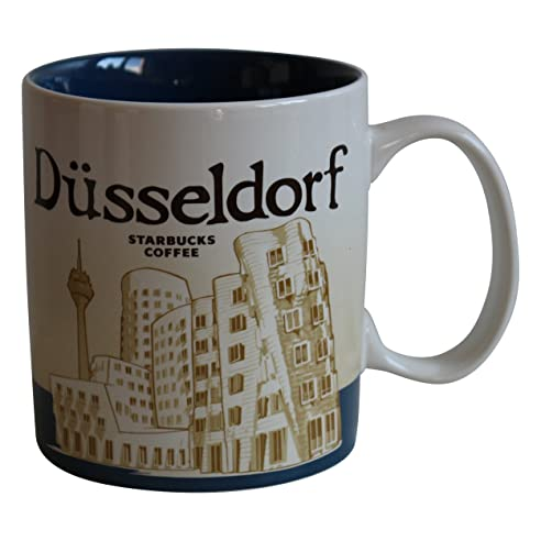 Starbucks City Mug Düsseldorf Icon Serie Germany Kaffeetasse