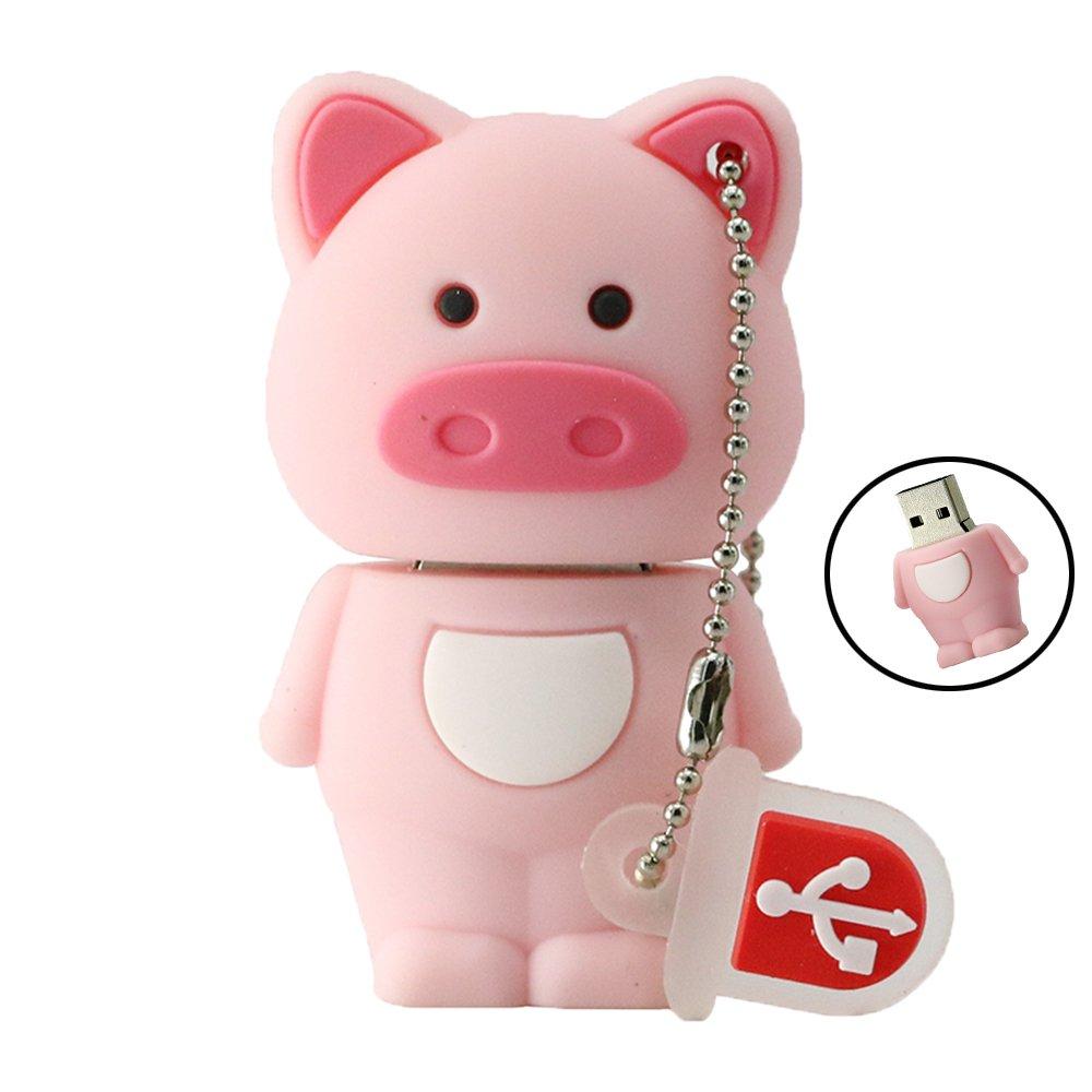 Pig Animal Usb 20 Usb Flash Drive Usb Stick Drive Thumb U