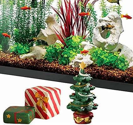 Ornaments Aquariums Accessories A Trilance Christmas Tree For Aquarium Decor Fish Tank Aquarium Ornament Resin Crafts Cartoon Xmas Tree Ornaments Kubicolab It